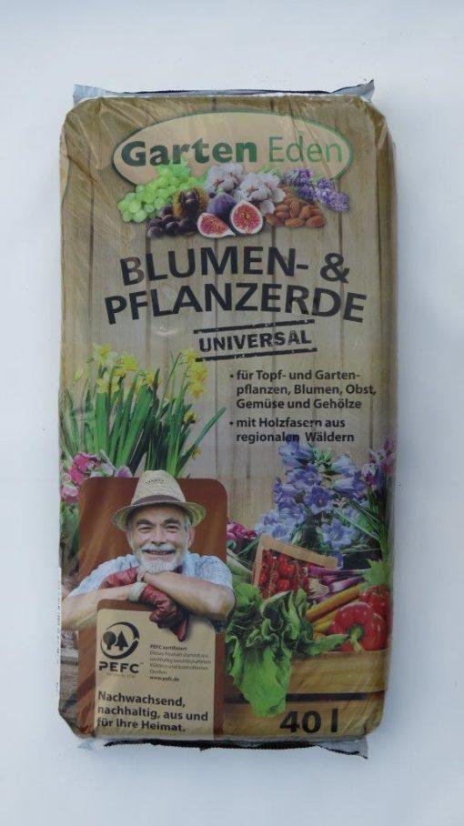 Blumenerde für Topf- und Gartenpflanzen 40L